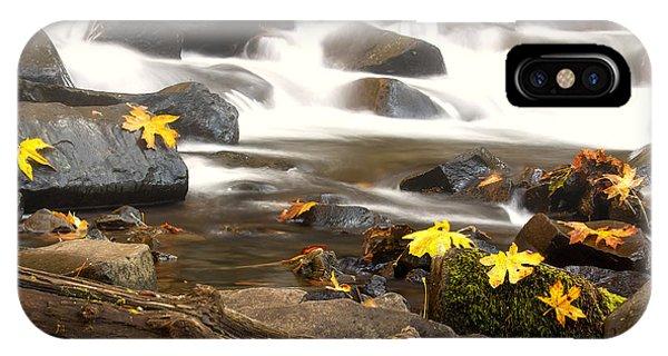 Autumn At Bridal Veil IPhone Case