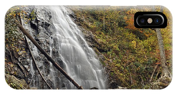 Autumn At Crabtree Falls In North Carolina IPhone Case