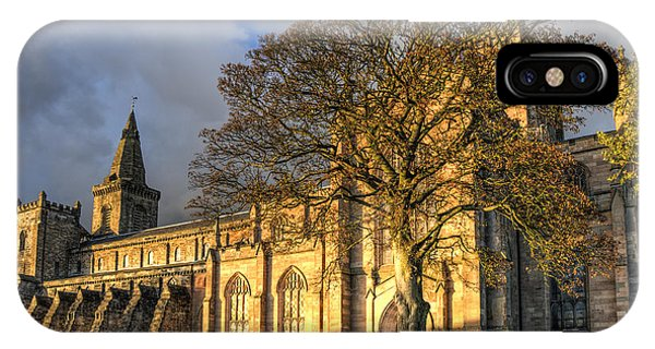 Autumn At Dunfermline Abbey IPhone Case