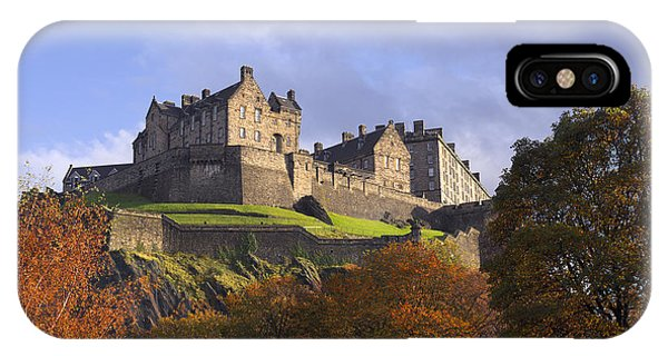 Autumn At Edinburgh Castle IPhone Case