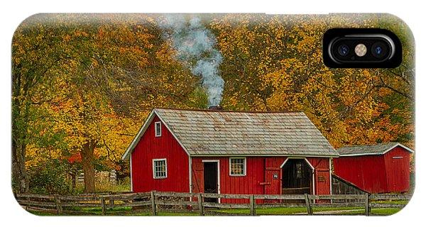 Autumn At Hale Farm Phone Case by Joshua Clark