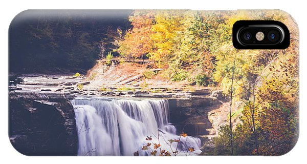 Autumn At Letchworth IPhone Case