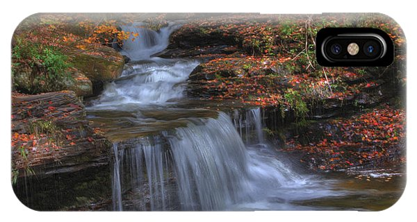 Autumn At Ricketts Glen IPhone Case