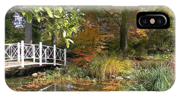 Autumn At Sayen Gardens IPhone Case