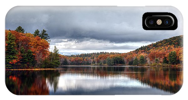 Autumn At Spectacle Pond IPhone Case