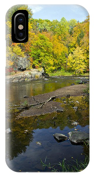Autumn At The Dells Of The Eau Claire IPhone Case