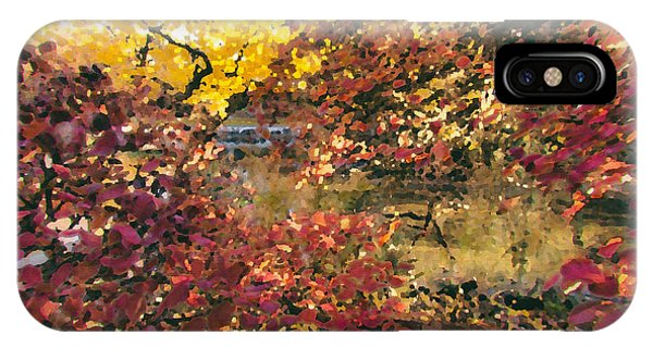 Autumn At The Park IPhone Case