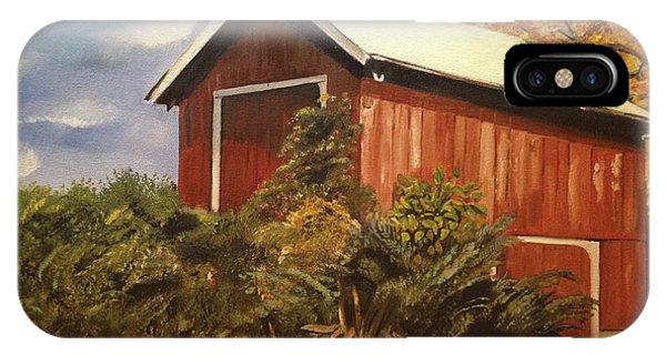 Autumn - Barn - Ohio IPhone Case