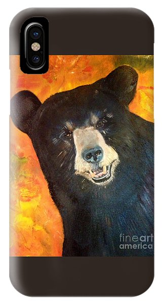 Autumn Bear IPhone Case