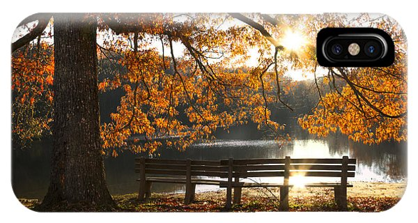 Chilhowee iPhone Case - Autumn Beauty by Debra and Dave Vanderlaan