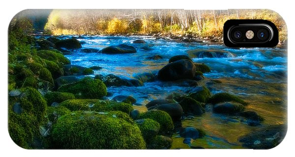 Autumn Beauty On The North Santiam IPhone Case