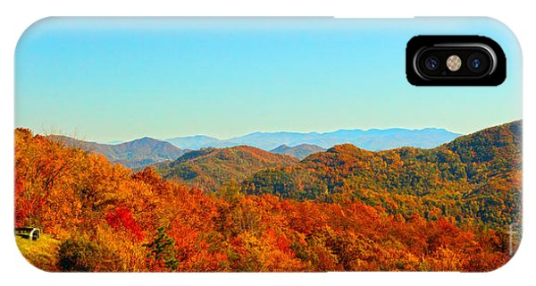 Autumn Blue Ridge IPhone Case