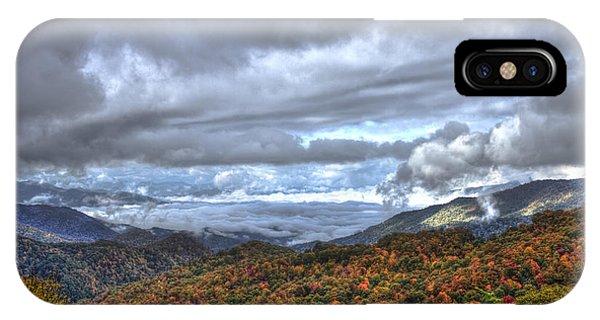 Autumn Blue Ridge Parkway North Carolina IPhone Case