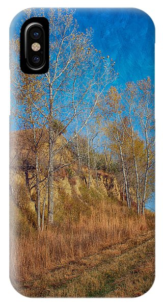 Autumn Bluff Painted IPhone Case