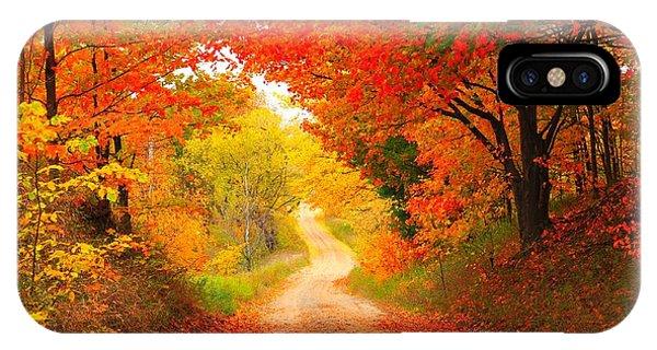 Autumn Cameo 2 IPhone Case
