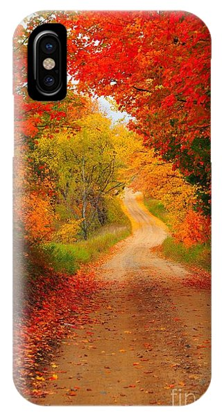 Autumn Cameo IPhone Case