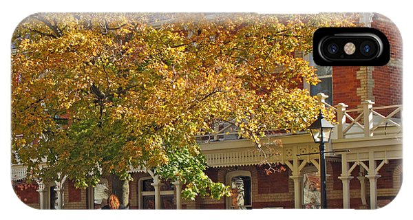 iPhone Case - Autumn Carriage For Hire by Barbara McDevitt