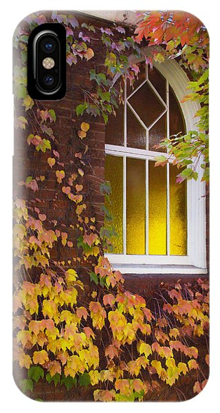 Autumn Church IPhone Case