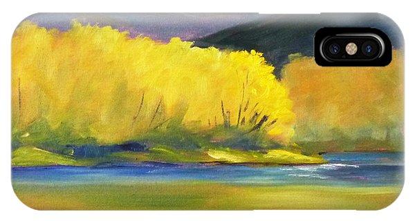 Rocky Mountain iPhone Case - Autumn Color by Nancy Merkle