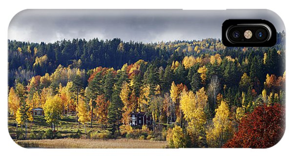 Autumn Colored Nature And Landscape IPhone Case