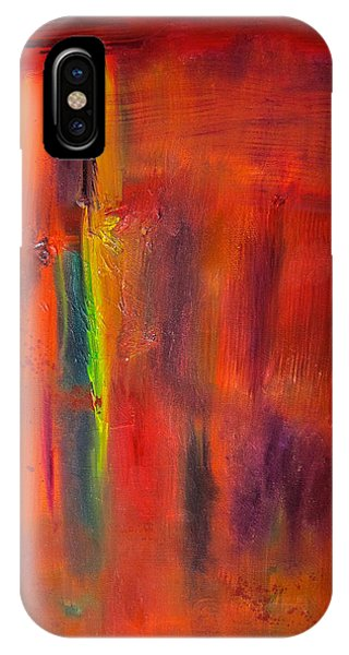 Autumn Colors Abstract IPhone Case