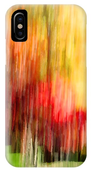 Autumn Colors In Abstract IPhone Case