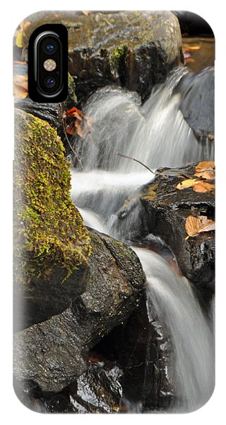 Autumn Colors On Big Crabtree Creek IPhone Case