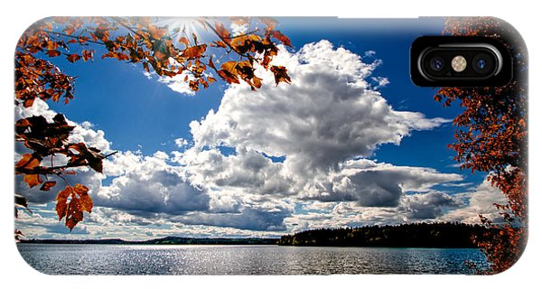 Skyscape iPhone Case - Autumn  Confidential  by Bob Orsillo