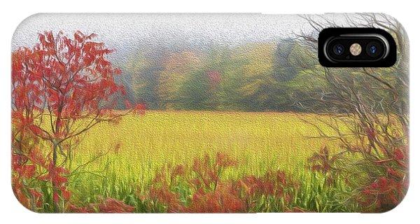 Autumn Cornfield II Phone Case by Tom Singleton
