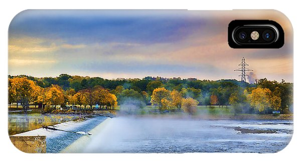 Autumn Dam Phone Case by Troy Schopp