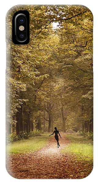 Autumn Dance IPhone Case
