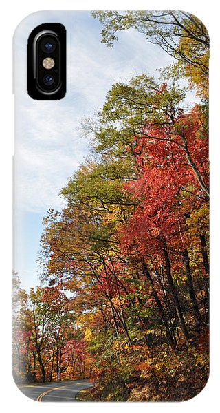 Autumn Day On The Blue Ridge Parkway IPhone Case