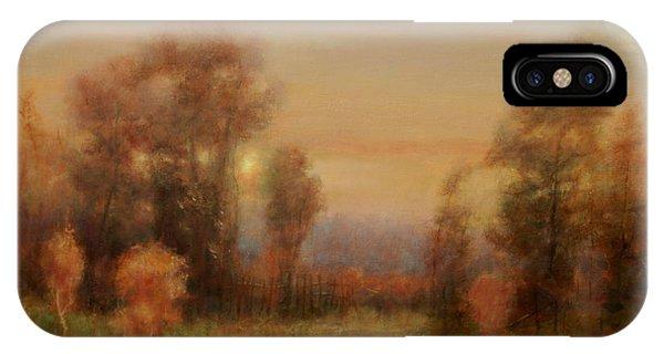Autumn Evening Glow IPhone Case