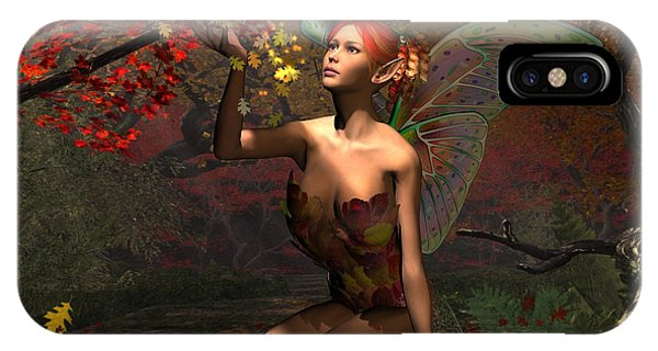 Autumn Fairy IPhone Case