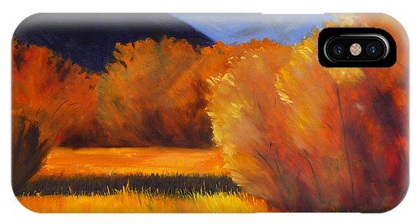 Autumn Field IPhone Case