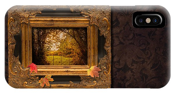 Autumn Frame IPhone Case
