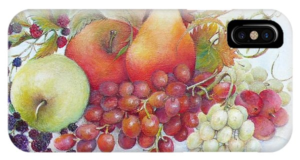 Autumn Fruits  / Sold IPhone Case