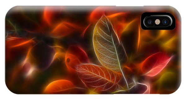 Leave iPhone Case - Autumn Glow by Veikko Suikkanen