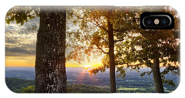 Chilhowee iPhone Case - Autumn Highlights by Debra and Dave Vanderlaan