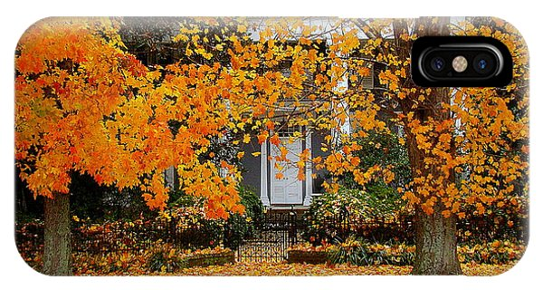 Autumn Homecoming IPhone Case