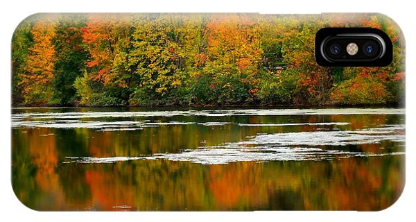 Stamford iPhone Case - Autumn I Say by Diana Angstadt