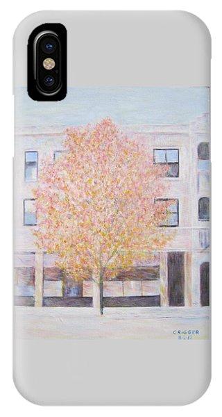 Autumn In Chicago IPhone Case