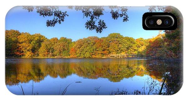 Autumn In Heaven IPhone Case