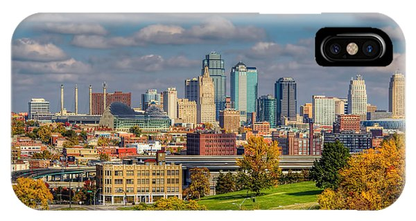 Autumn In Kansas City IPhone Case