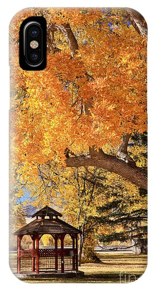 Autumn In La Veta IPhone Case