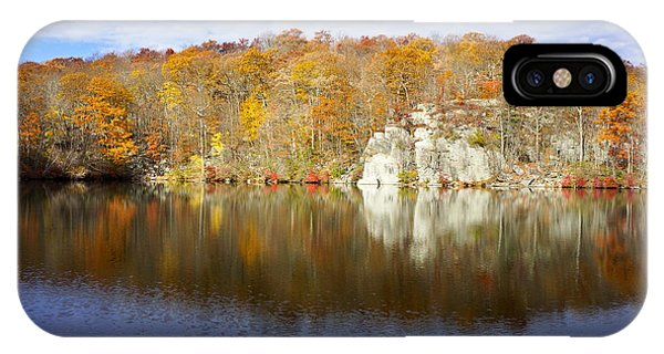 Autumn In Lake Canopus IPhone Case