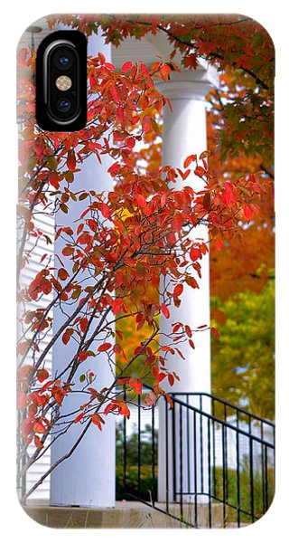 Autumn In Long Grove 2 IPhone Case