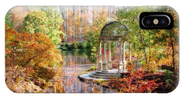 Autumn In Longwood Gardens IPhone Case
