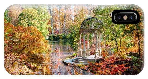 Autumn In Longwood Gardens IPhone Case