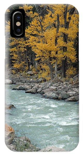 Autumn In Montana's Gallatin Canyon IPhone Case